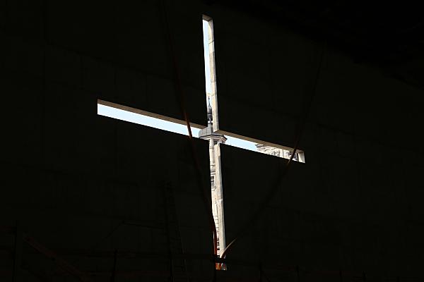 Bilddokumentation Kirchenbau Lichtkreuz.