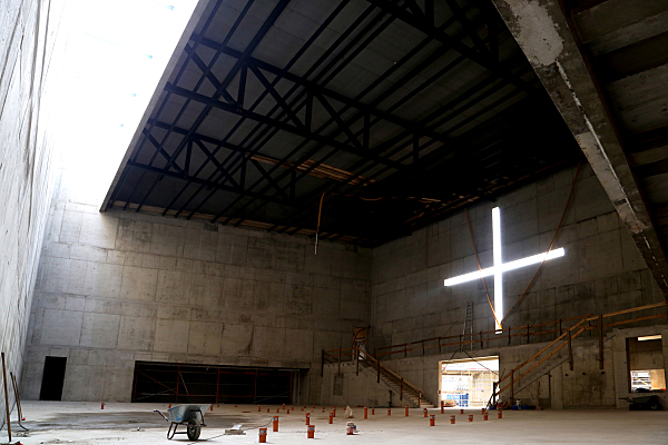 Bilddokumentation Kirchenbau.